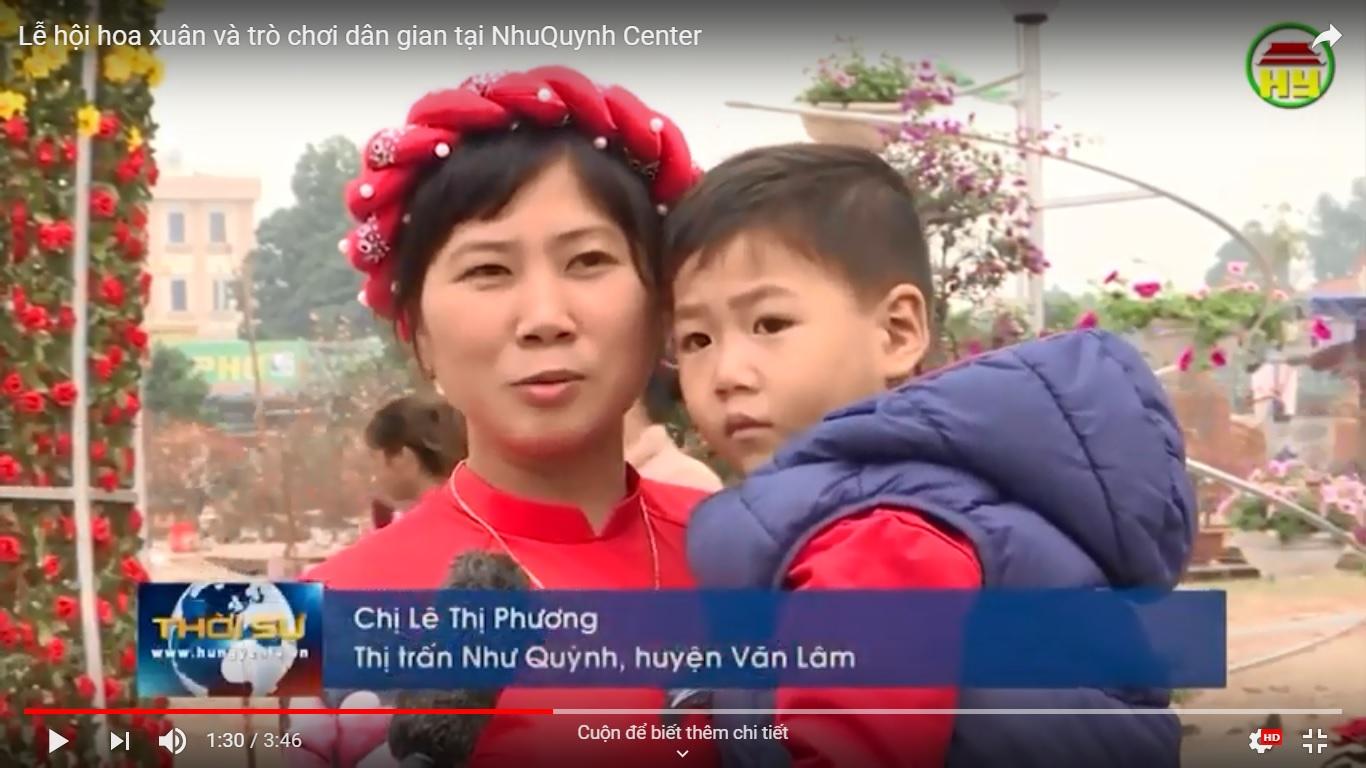 Lễ hội hoa xuân và trò chơi dân gian tại Như Quỳnh